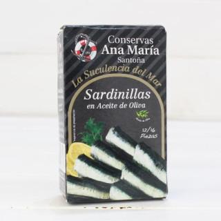 Sardinillas 12/16 piezas 115 grs. Ana Maria