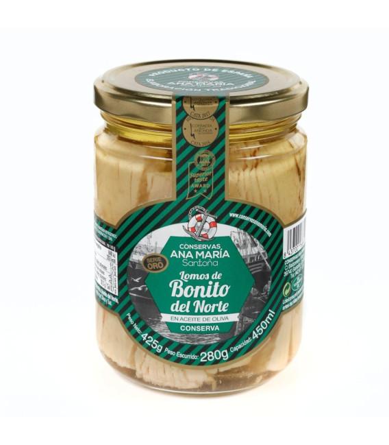 Bonito del Norte, dans de l'Huile d'Olive 425 g de Ana Maria
