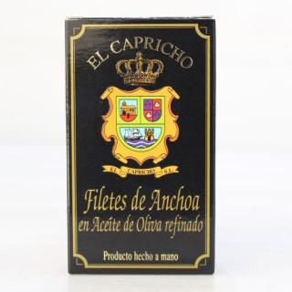 Anchoas de Santoña en Aceite de Oliva 85 grs. El Capricho