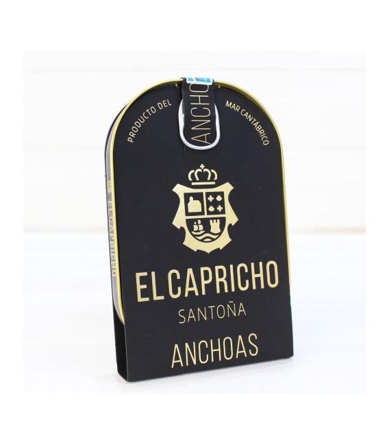 Anchoas de Santoña ALTA RESTAURACIÓN 115 grs. El Capricho