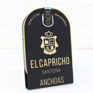 Anchois de Santoña dans l'huile d'olive de HAUTE RESTAURATION 115 gm Caprice