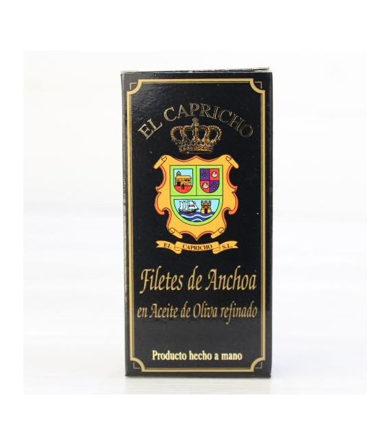 Anchoas de Santoña Aceite de Oliva 50 grs. El Capricho