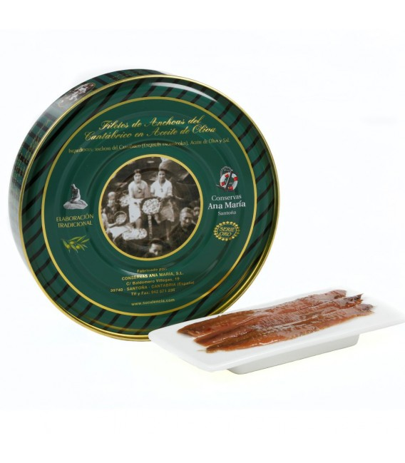 Anchoas en Aceite de Oliva 550 grs. Ana Maria