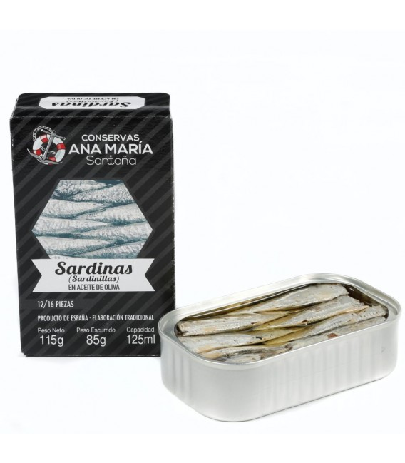 Minnows 12/16 pieces 115 grams Ana Maria