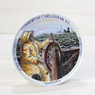 Acciughe di Santoña 180 grammi di olio d'oliva. Carlanmar