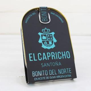Bonito del Norte en aceite de oliva virgen extra, 210 gr, El Capricho
