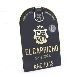 Anchoas de Santoña en AOVE 20 filetes 115 grs. El Capricho