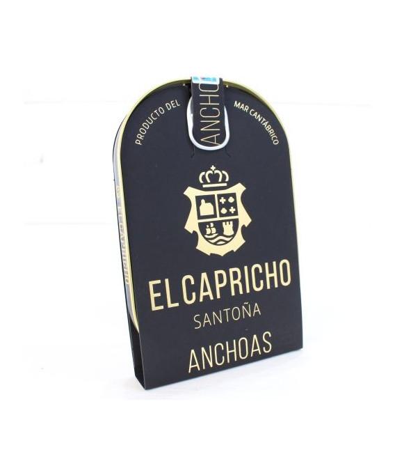 Anchoas de Santoña en AOVE ALTA RESTAURACIÓN 10 filetes. El Capricho