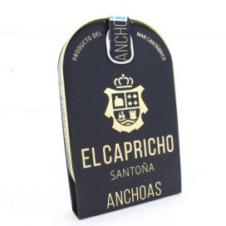 Anchoas de Santoña en AOVE ALTA RESTAURACIÓN 12 filetes. El Capricho