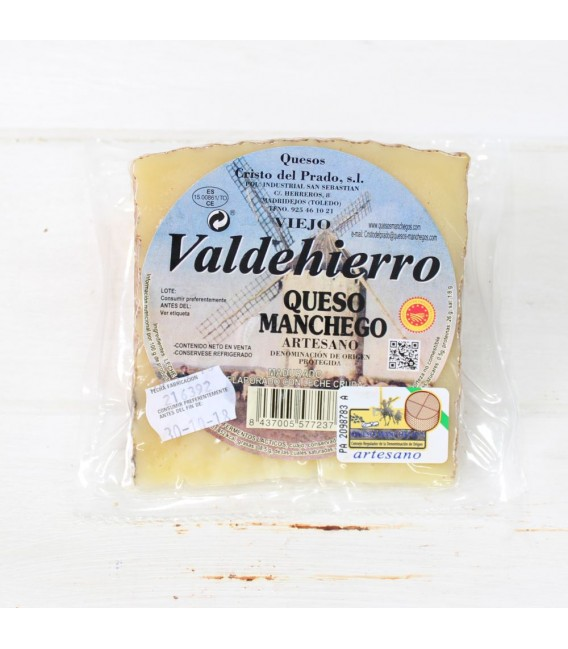 Wedge Manchego Cheese Old Craftsman 250 Approx.