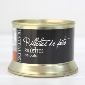 Rillettes of Duck, artisans , 130 grs