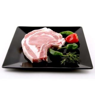 Chuletones la viande de Veau Blanche plateau Supplémentaire de 700 grammes 2 und.