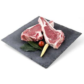 Steaks von Rind Rosa Extra fach für 800 g 2 und.