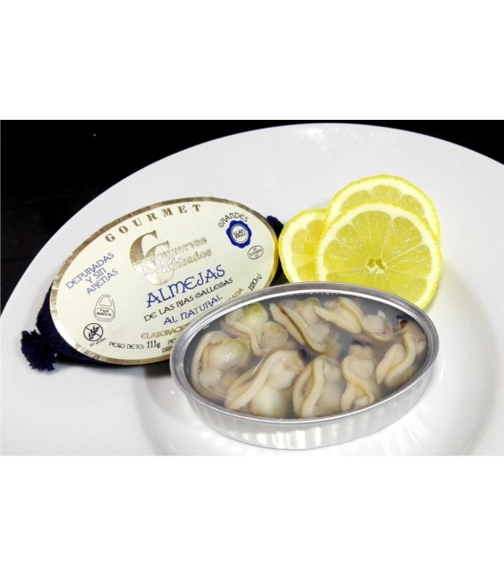 Clams Galician rias natural, 16 - 20 pieces