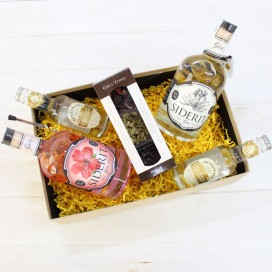 "Basket Gourmet Pack ""gin-tonic and company"""