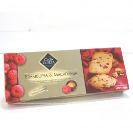 Biscuits raspberry and macadamia nuts, 100g