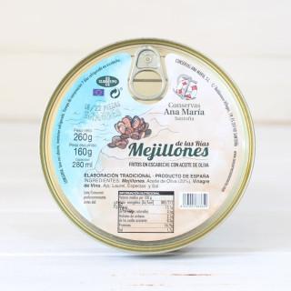 Les moules Frites en Marinés 260 grammes Ana Maria