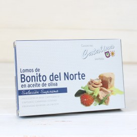 Bonito del norte in olive oil 160 Grams. Catherine