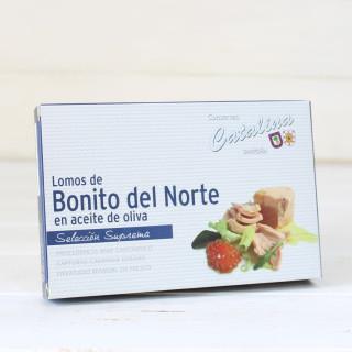 Bonito del norte in olive oil 160 Grams. Catherine