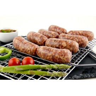 Le créole de la saucisse de l'artisanat spécial des barbecues