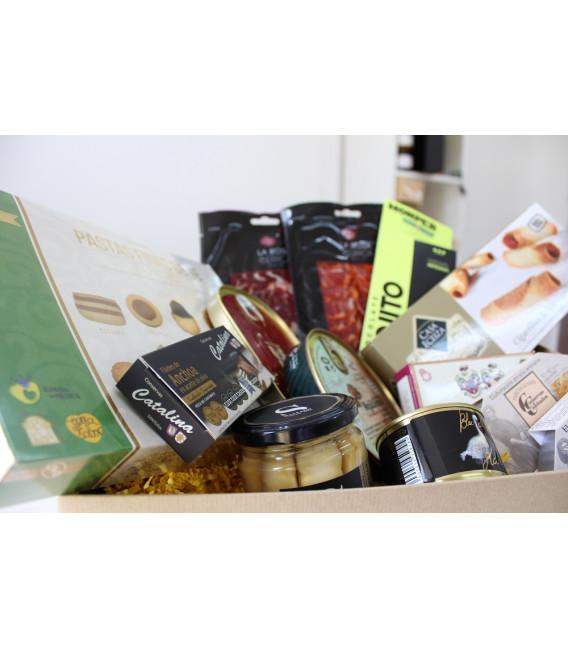 "Caja regalo Gourmet, San Valentín ""Díselo"""