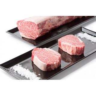 Le filet de bœuf Kobe partir de 3+ 7+ dans les médaillons de 200 grammes