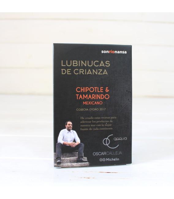 Lubinucas de crianza chipotle y tamarindo mexicano 133 gr