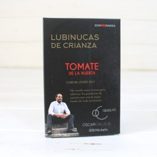 Lubinucas de crianza con tomate de la huerta 133 gr