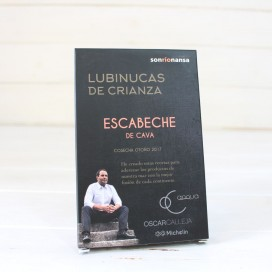 Lubinucas of parenting in a marinade of champagne 133 gr