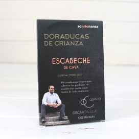 Doraducas of parenting in a marinade of champagne 133 gr