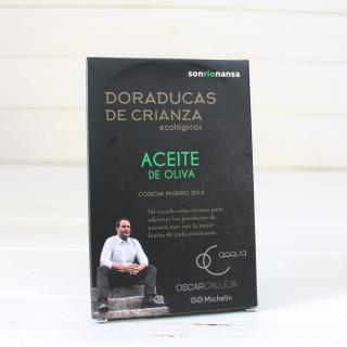 Doraducas de crianza ecológicas en aceite de oliva 133 gr