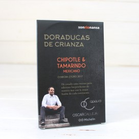 Doraducas parenting chipotle and tamarind mexican 133 gr