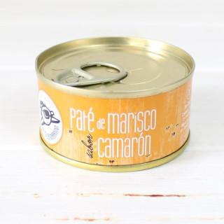 Paté de marisco sabor Camarón 80 gr