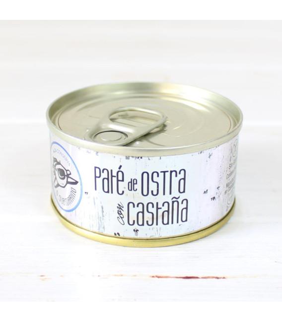 Paté de Ostra con Castaña, 80 gr