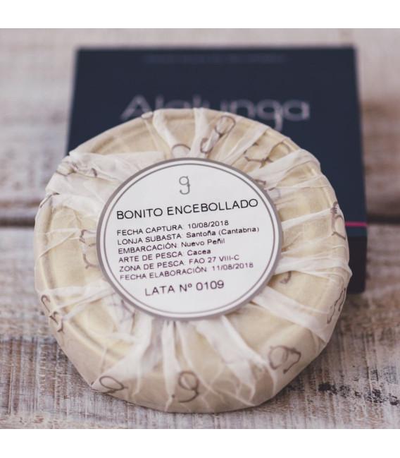 Lomos de Bonito Encebollados, 138 gr