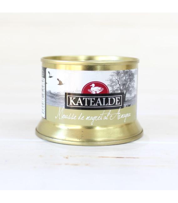 Mousse de Magreat de pato al armagnac, 130 grs