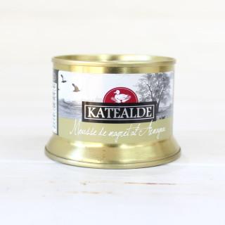 Mousse de Magret de pato al armagnac, 130 grs