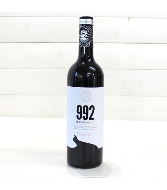 Vino tinto 992 Finca Río Negro