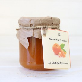 De la confiture de Mandarine orange 220g