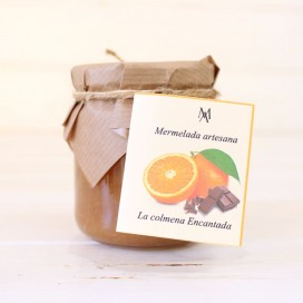 De la marmelade d'Orange 220g de Chocolat
