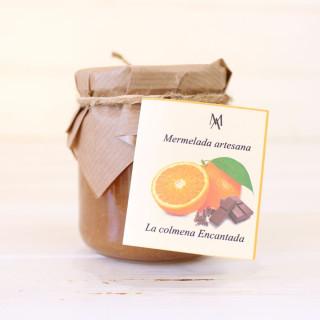 Orangenmarmelade und Schokolade, 220g