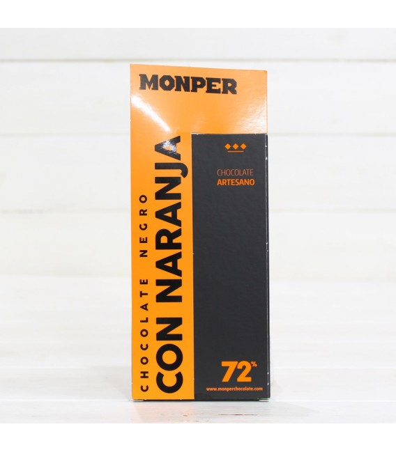 Schokolade Handwerkliche Schwarz mit Orange, 85 g