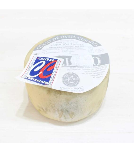Queso de Oveja Curado 500 gr aprox