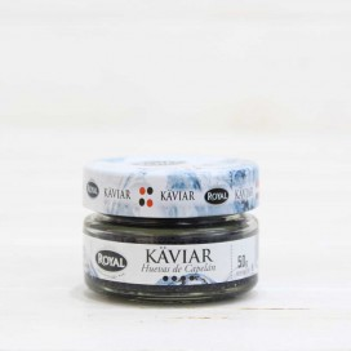 Caviar huevas de Capelán negro 50 gr