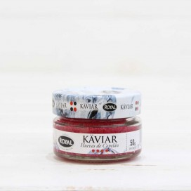 Caviar roe of Capelin red 50 gr