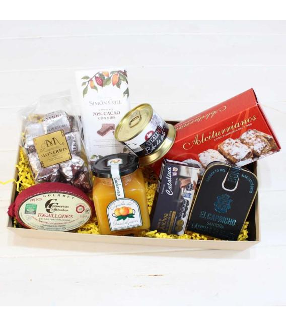 """Caja regalo Gourmet, San Valentín """"Momento"""""""