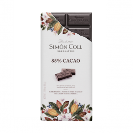Tableta chocolate artesanal 85% cacao, 85 gr