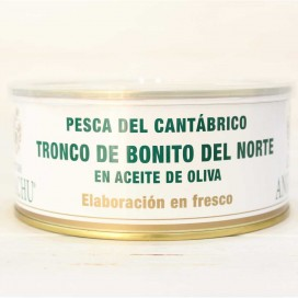 Bonito del Norte in tronco fresco in Olio di Oliva gr 900 Angelachu