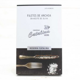 "Anchovies from Santoña in Olive Oil ""Reserves Catalina"""