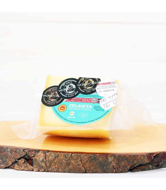 Morceau de fromage Idiazabal D. O. P 300 grammes